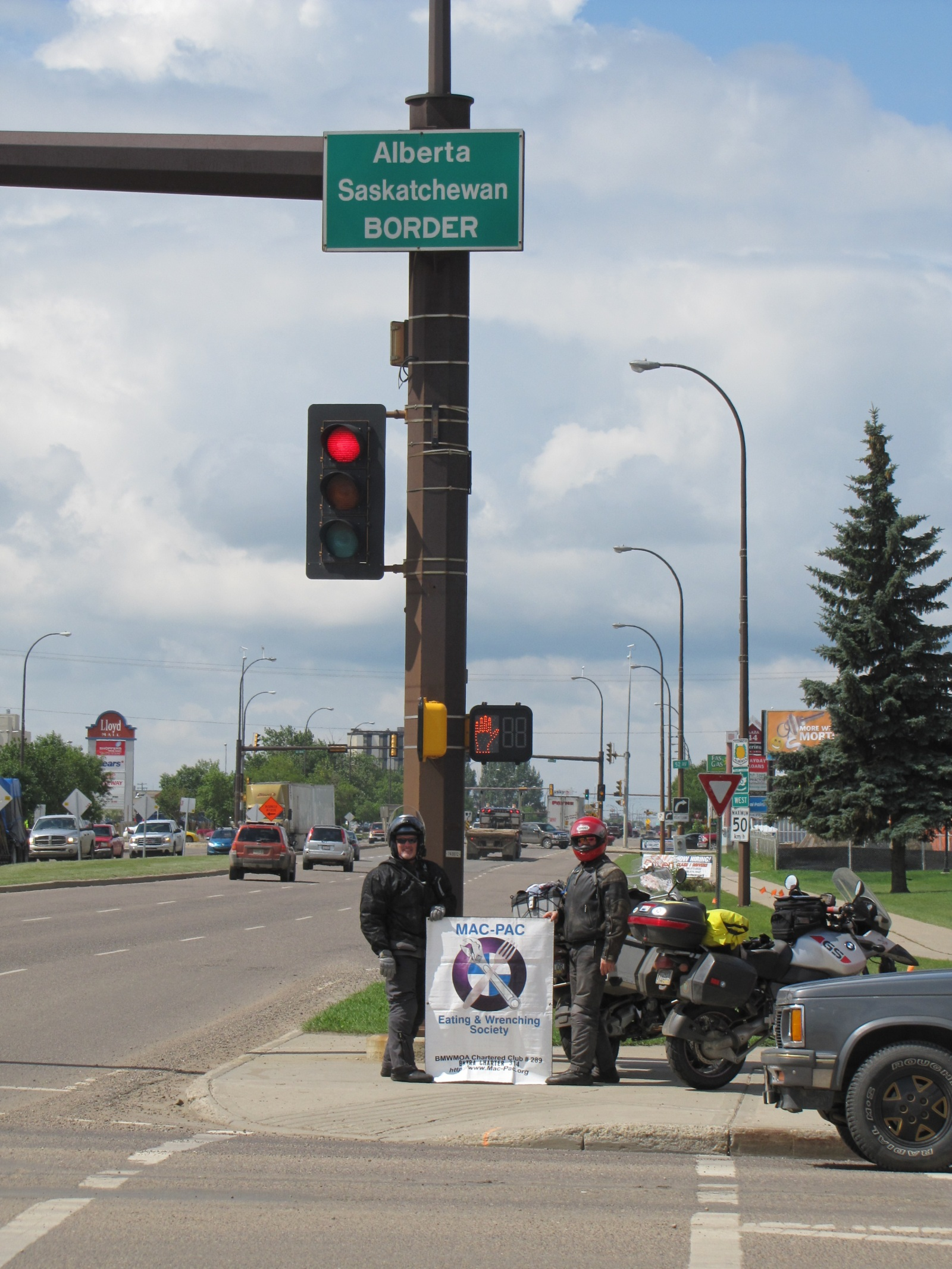 Alberta - Saskatchewan Border